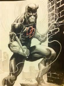 Freddie Williams Daredevil Comic Art