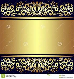 Luxury Background With Golden Royal Borders. Royalty Free ...