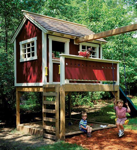 Backyard Play House by Backyard Playhouse