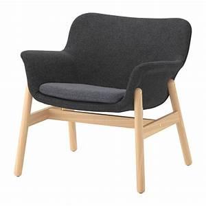 VEDBO Fauteuil Gunnared Donkergrijs IKEA
