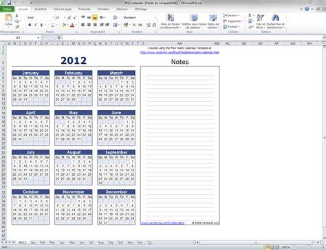 modèle planning excel gratuit mod 232 le de calendrier mensuel excel t 233 l 233 charger