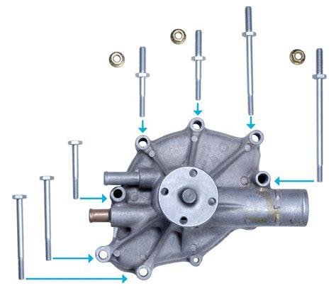 Factory Correct Mustang Water Pump Bolt Kit