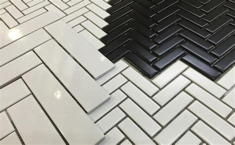 herringbone mosaic glazed herrinbone mosaics products surface gallery
