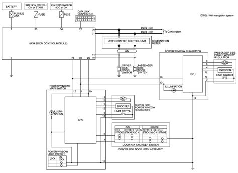 Window Wiring Harnes Diagram For 2003 Nissan Altima by I Need A Wiring Diagram For The Passenger Window Switch
