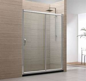 la porte coulissante pour la salle de bain With porte de douche coulissante avec meuble de salle de bain style romantique