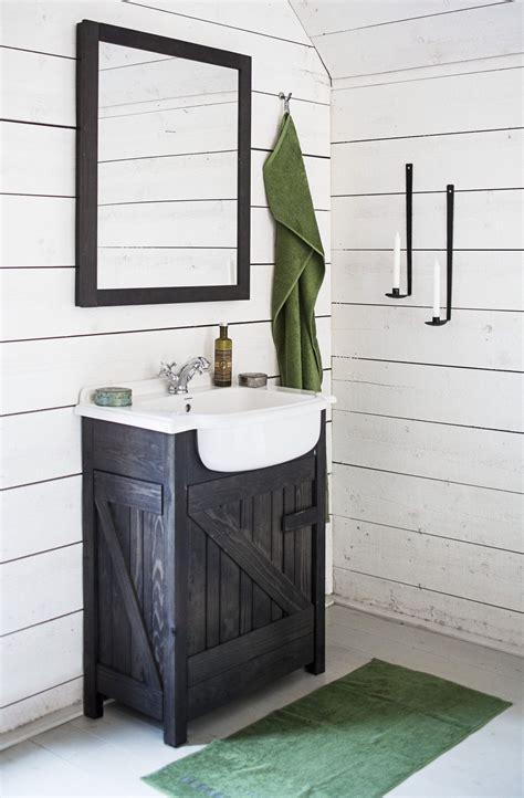 kylpyhuonekalusteet tulvillaan rustiikkia flirttiae