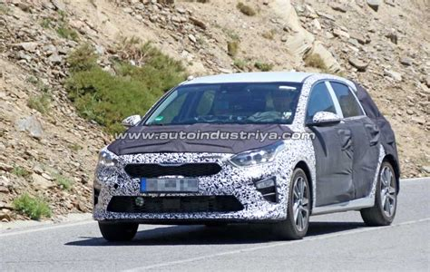 Spied 2018 Kia Cee'd Extreme Hot Weather Testing Auto