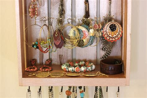 perfect images diy jewelry organizer dma homes