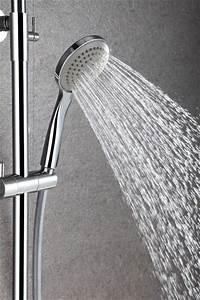 Duschkopf Für Durchlauferhitzer : design duschs ule thermostat 4011 basic inkl handbrause auswahl duschkopf rund badewelt ~ Heinz-duthel.com Haus und Dekorationen