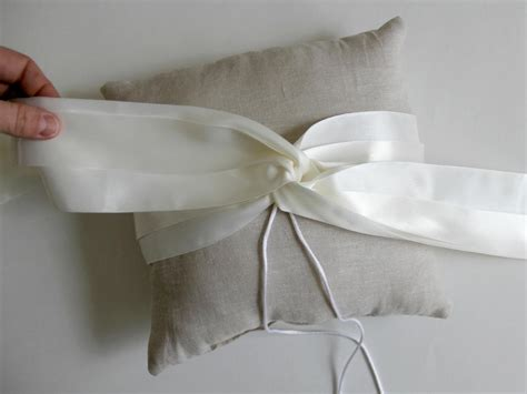 how to sew a ring bearer pillow for a wedding on