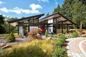 Home Haus : modern timber framed minimalist bungalow house ~ Lizthompson.info Haus und Dekorationen