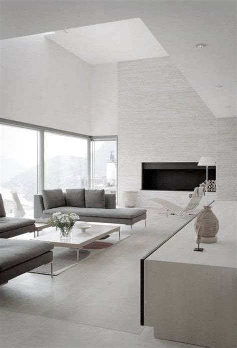 Spacious Modern Living Room Interiors by Photo In Shale Interior Photos Privat Interiors