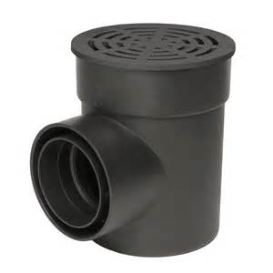 StormDrain FSD-060-CB Kit Round Catch Basin Kit with Black Grate