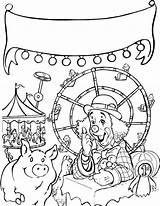 Coloring Fair Carnival Pages Web County State Charlottes Rides Charlotte Printable Contest Fun Themed Pig Wheel Getcolorings Characters Popular Amazing sketch template