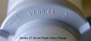 Grohe 27 05 44 Flush Valve