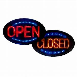 LED Color Open/Closed Sign 23x14 | Anything Display