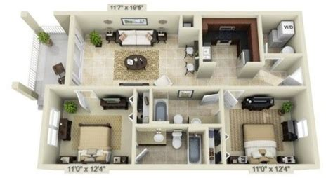 images   housing planslayouts  pinterest  rendering  bedroom   design