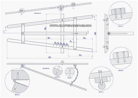 frame tripod easel plan