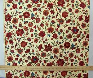 Vintage Floral Cotton Fabric BTY