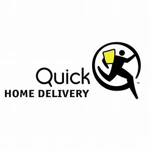Quick home delivery Free Vector / 4Vector