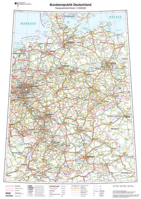 Landkarte deutschland politisch (din a4). fidedivine: 25 Wunderschonen Deutschlandkarte Din A4 Zum ...