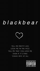 blackbear wallpaper Tumblr Bbs Pinterest