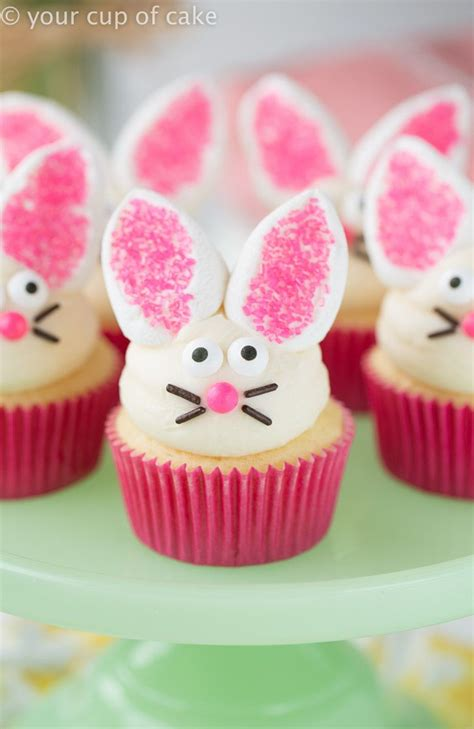 Decorating Ideas For Easter Cupcakes by Best 20 Bunny Cupcakes Ideas On Easter