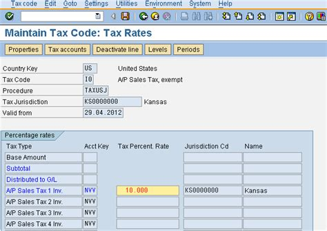 sap tax category table tax configuration for sap implementations