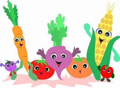 Vegetables Clipart Clip Vegetable Fruit Garden Border