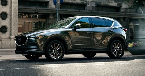 mazda cx  signature  democratizes fancy pants trim