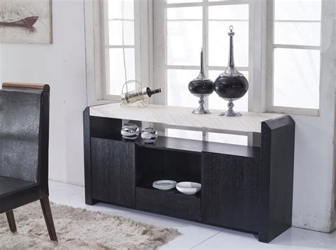 Consignment Buffet Table Granite Top Buffet Sideboard