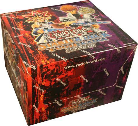 yu gi oh yugi kaiba reloaded starter deck box 248