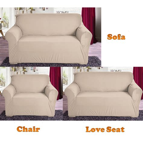 stretch sofa seat covers new slipcover stretch sofa cover sofa with loveseat chair