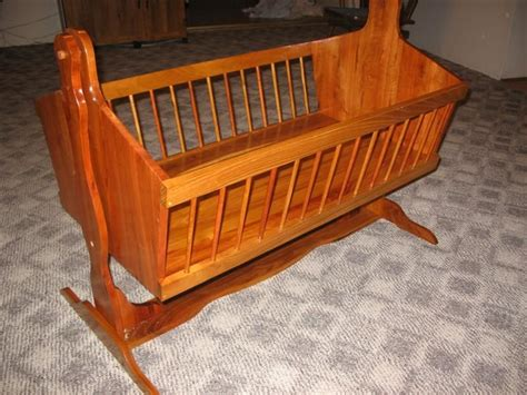 wooden baby cradle swing design baby