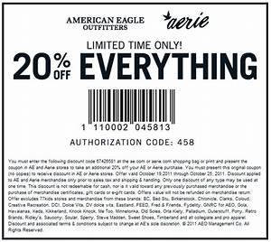 American Eagle Shipping Promo Codes - Best Image Konpax 2017