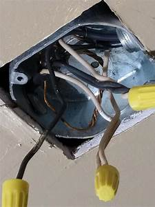 Installing A New Ceiling Fan With Strange Existing Wiring