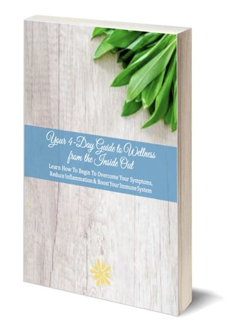 thin book template free 4 day meal plan guidebook zen functional wellness
