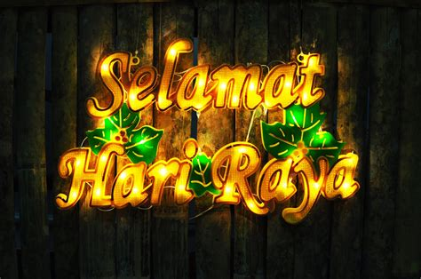 hari raya festivities   significance today