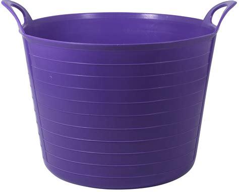 b and q tub large purple flexi tub departments diy at b q