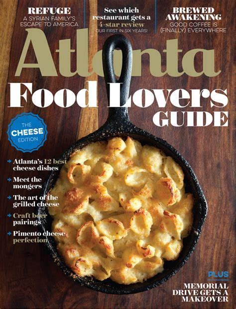 guide cuisine magazine april 2016 food guide the cheese edition