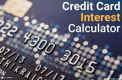 credit card interest calculator find  payoff date
