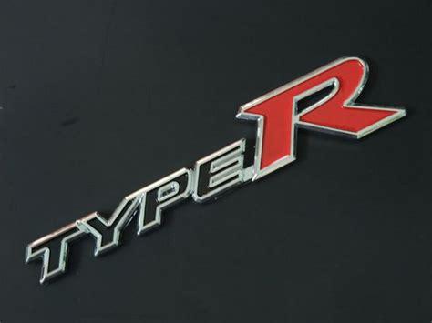 Buy Genuine Honda Type-r Rear Trunk Stainless Steel 3d