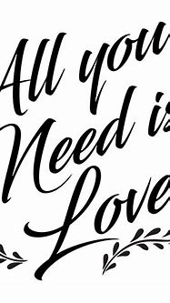 All You Need Is Love Decal – PhotoMal.com