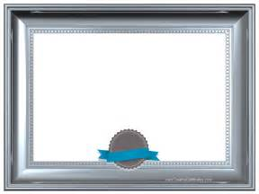 Certificate Borders and Frames