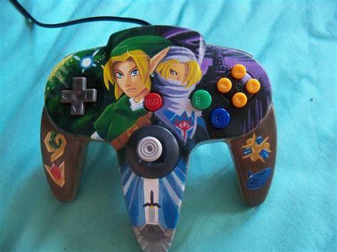 Custom Made Zelda N64 Controller Nintendo Legend Of