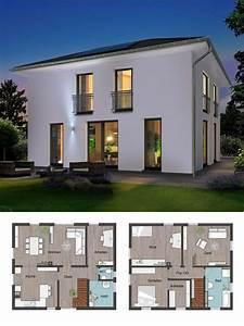 Elegante Stadtvilla Mit Walmdach Architektur Massivhaus