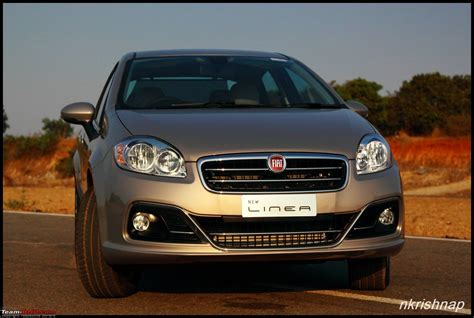 The 2014 Fiat Linea Facelift  Test Drive & Review Teambhp