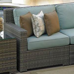 Northcape malibu left arm sectional for Malibu outdoor sectional sofa