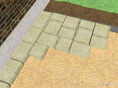 how to install pavers how to install pavers