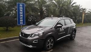 Peugeot Voiture Autonome : peugeot les voitures autonomes test es sur routes ouvertes en chine ~ Voncanada.com Idées de Décoration